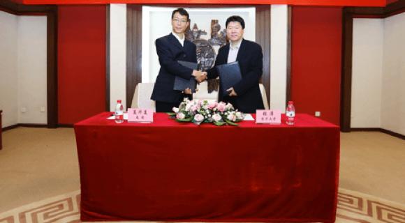 美团与清华大学自动化系签署合作意向书