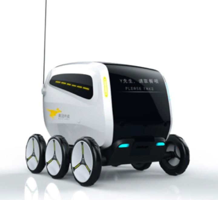 以外卖配送场景撬动无人驾驶的未来