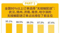 """美团外卖""""无接触配送""""报告:果蔬粮油类销售额增长400%"""